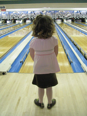 My little bowler…
