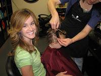 Addison's First Hair Cut!