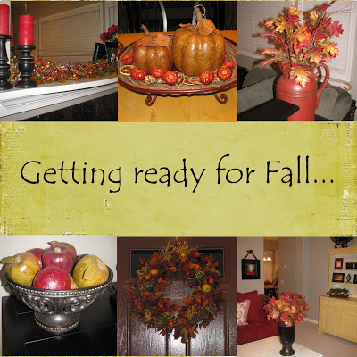 Getting Ready for Fall