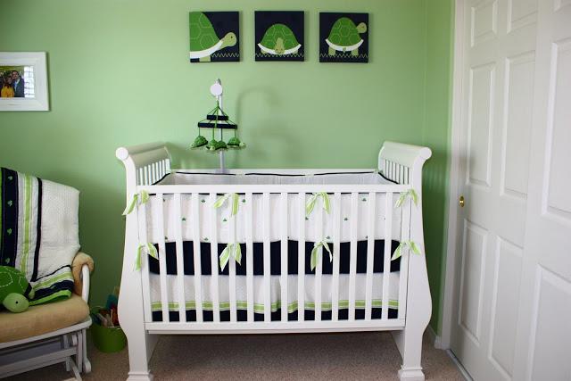 Baby Gap Turtle Crib Bedding