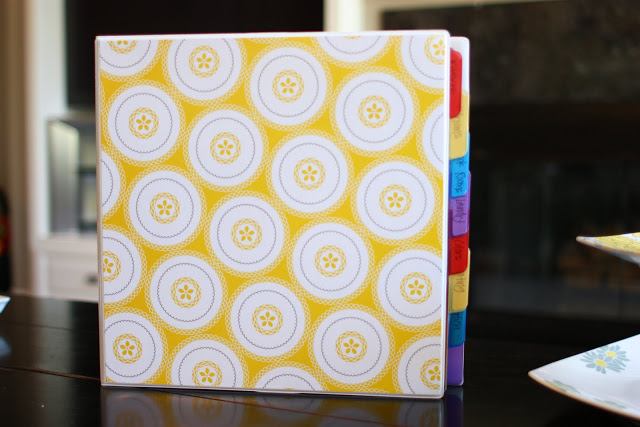 Home Decor Binder