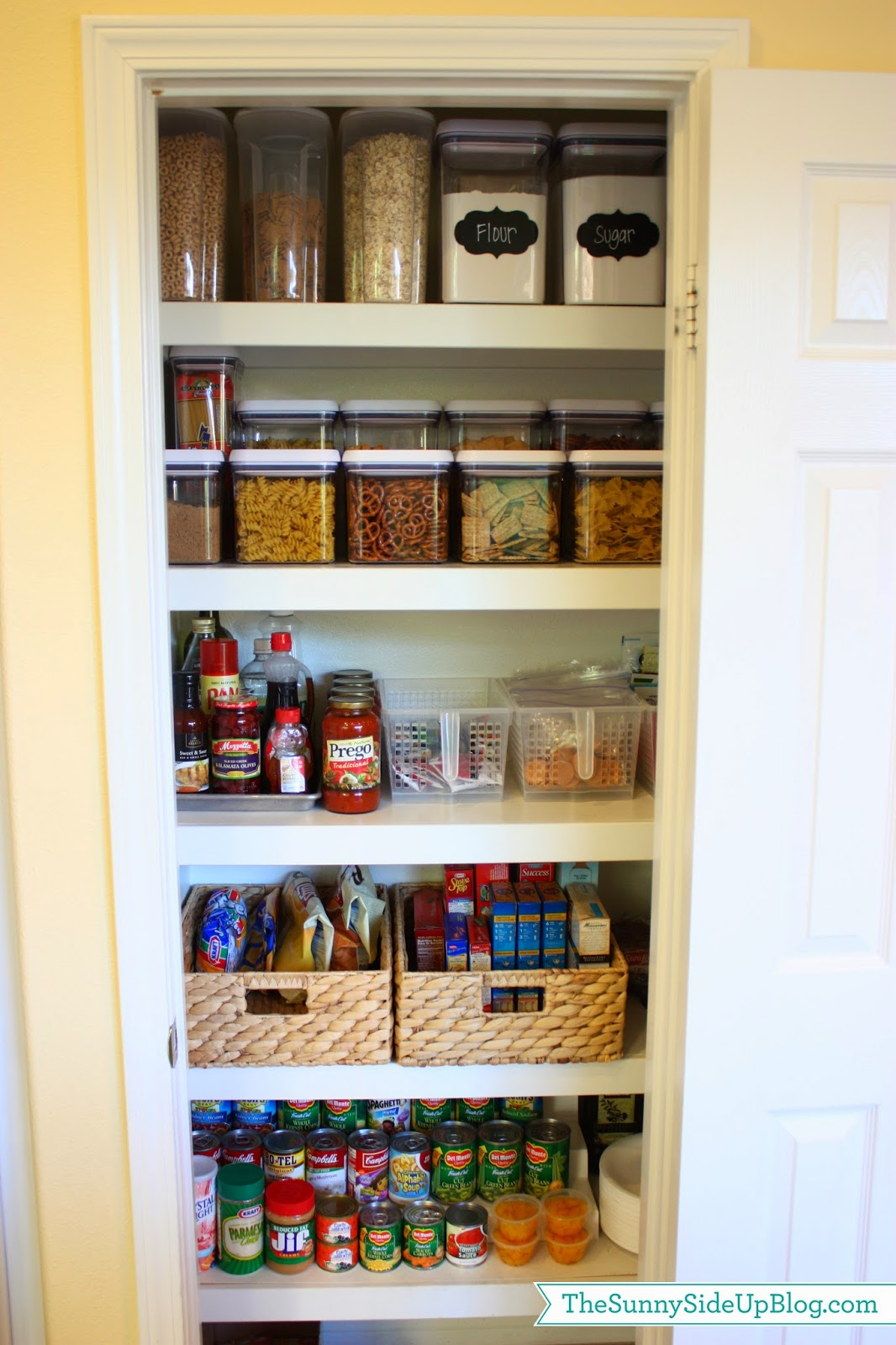 10 Small Pantry Ideas For An Organized Space Savvy Kitchen: The Sunny Side Up Blog