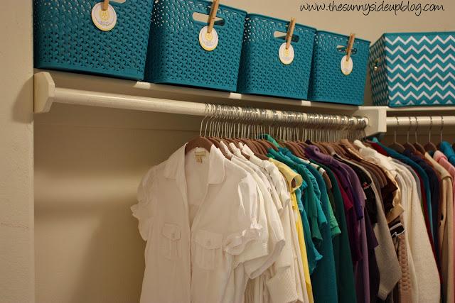 Master Closet Organization (take two)