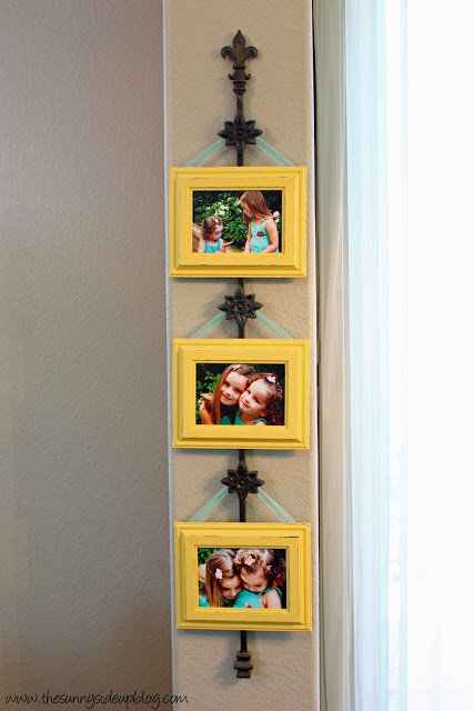 Spring picture frames (3rd times a charm)