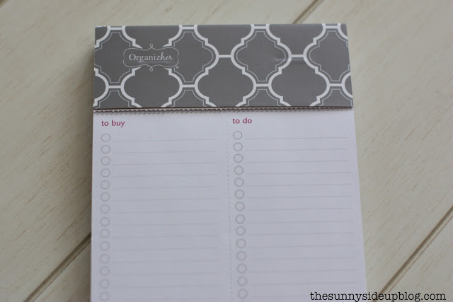 A favorite Target find (to-do notepad)