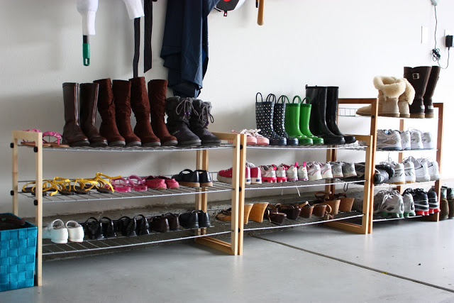 Shoe/Coat/Backpack organization