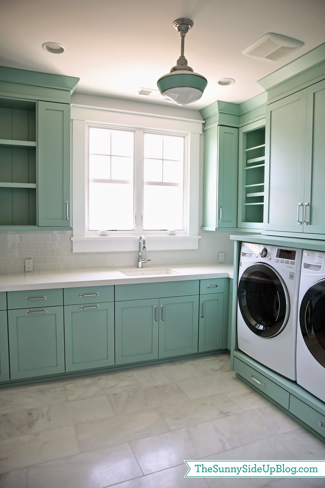 New house tour the sunny side up blog for How to add a laundry room to your house