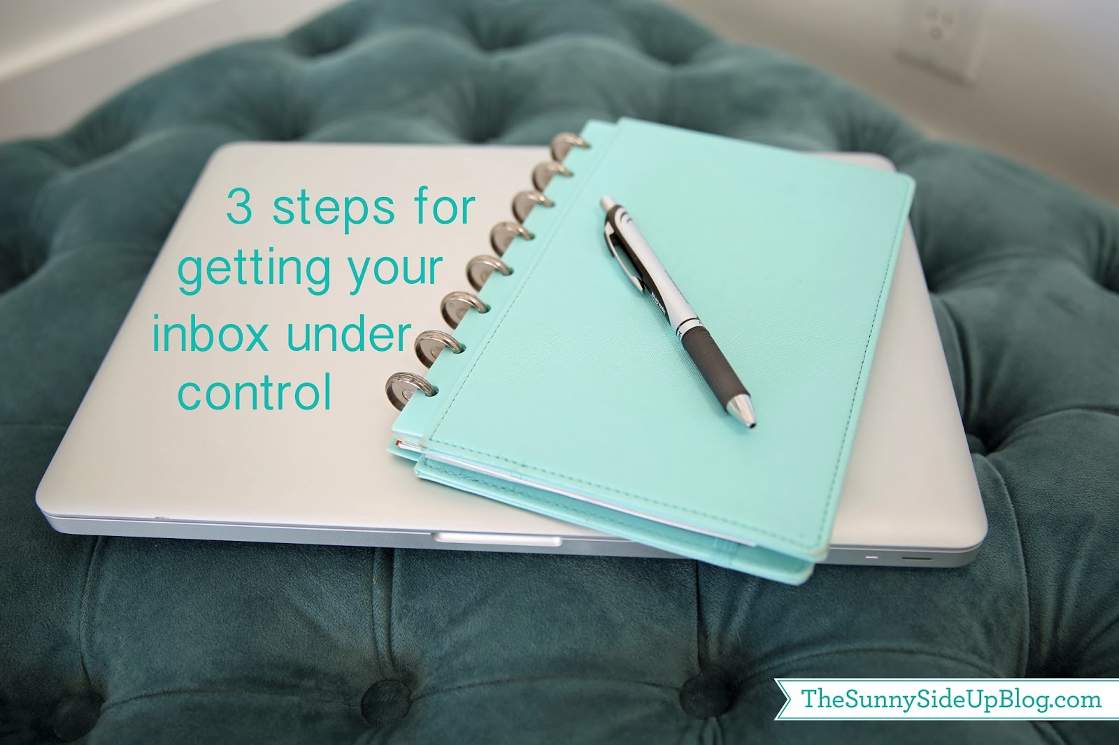 3 steps for getting your inbox under control