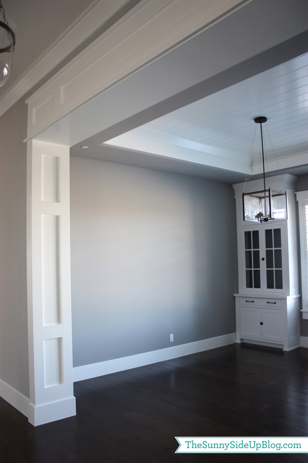 Formal dining room the sunny side up blog for Interior moulding and trim