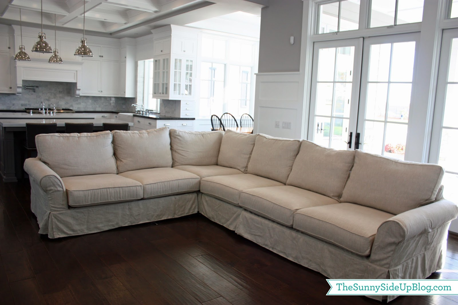 Family room decor update the sunny side up blog for Family lounge furniture