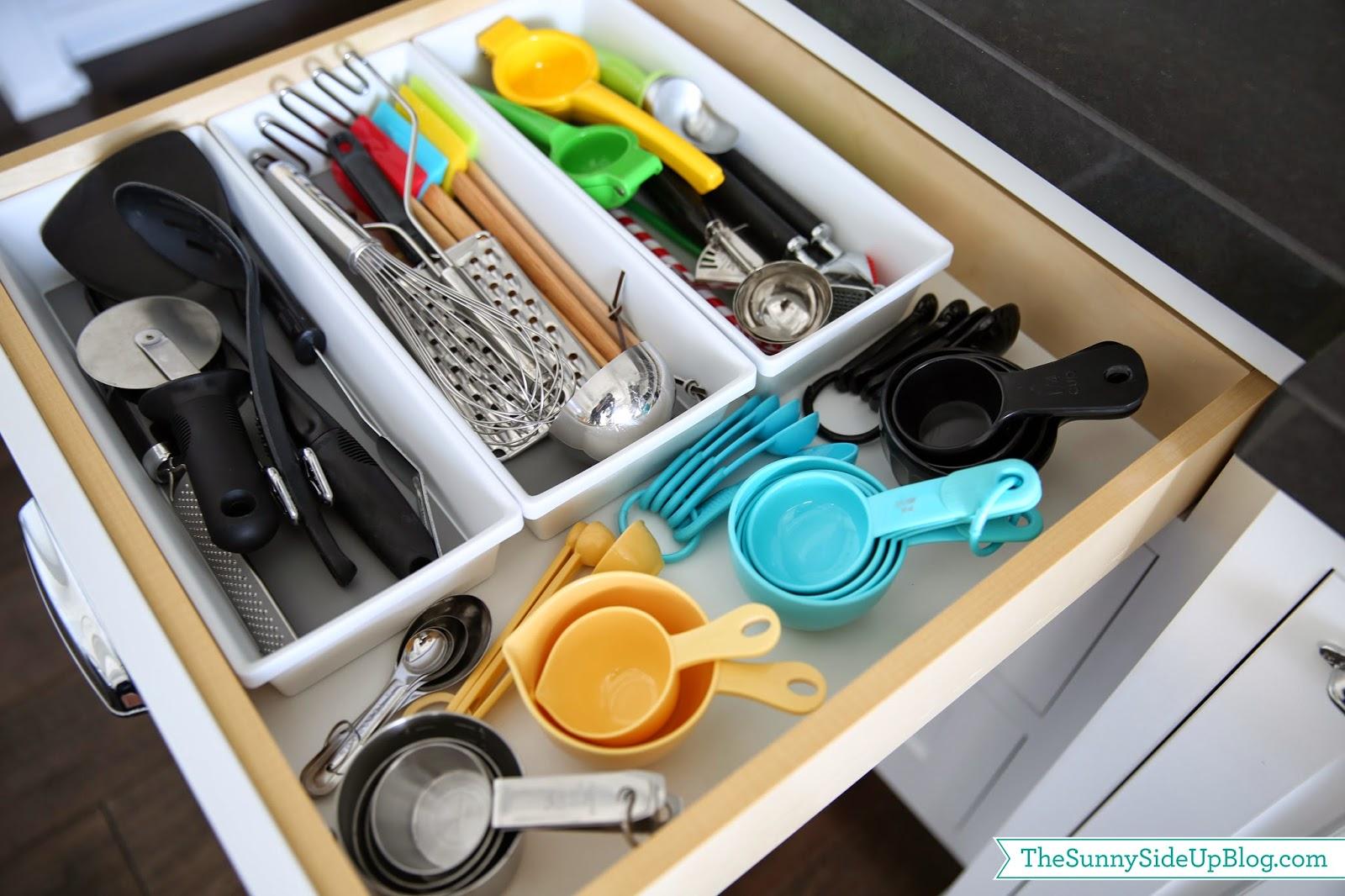 Organized Kitchen Utensil Drawer The
