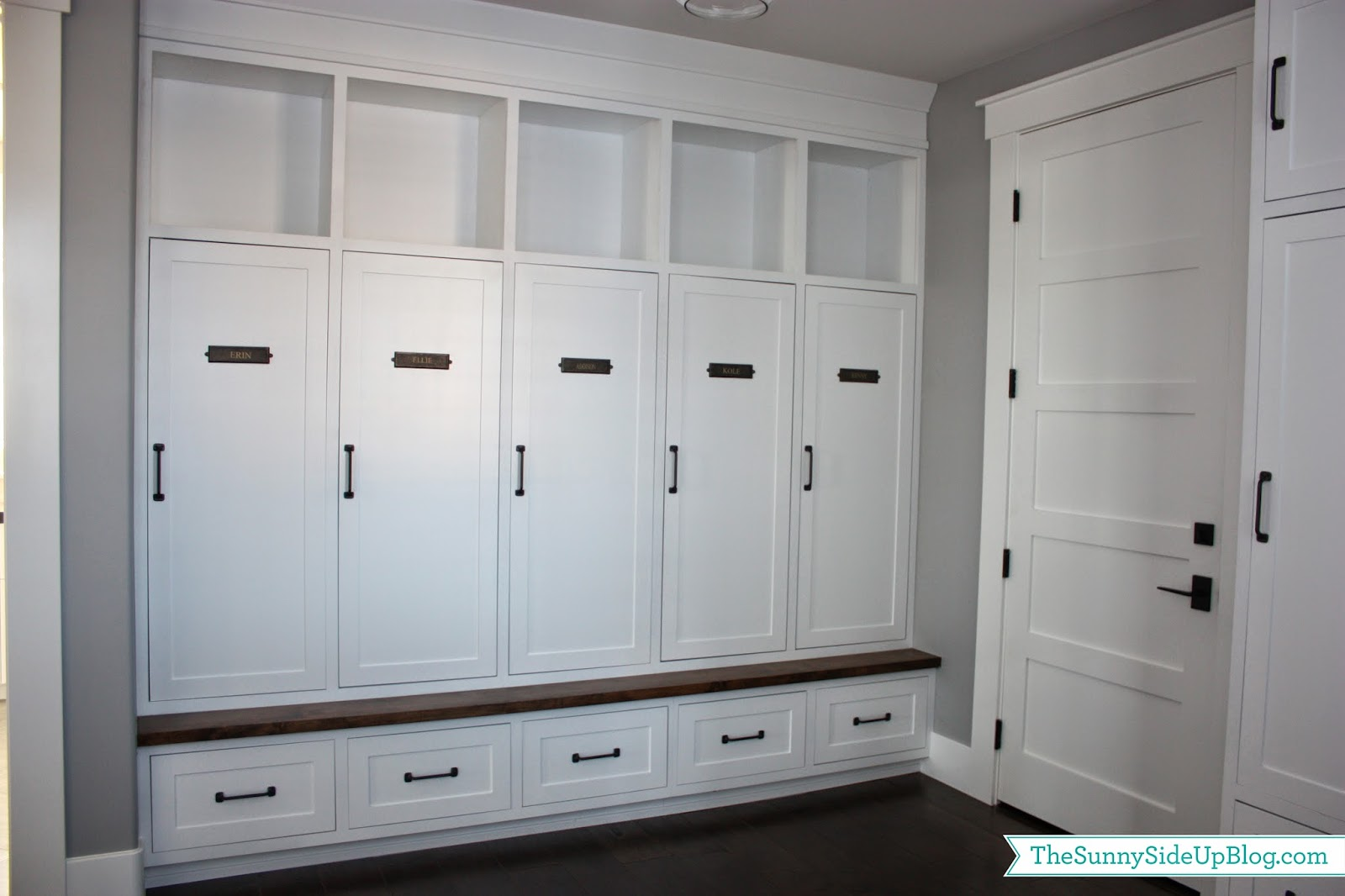 Charmant My New Organized Mudroom!