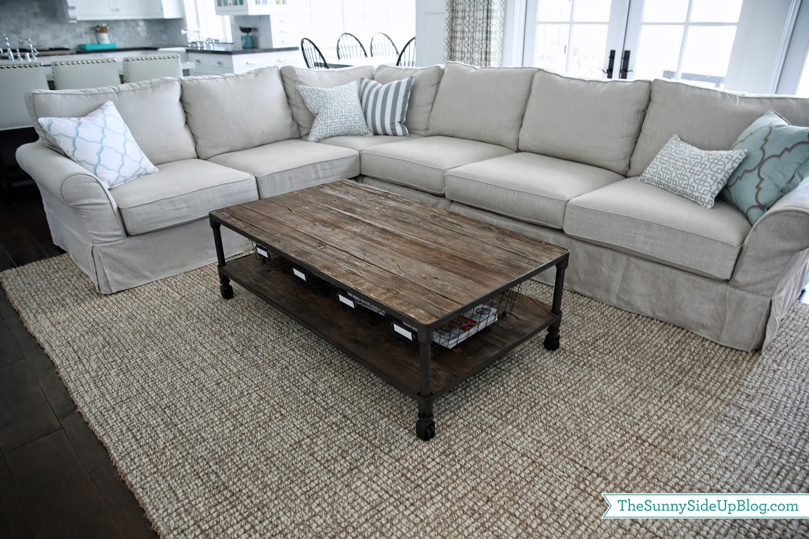 Coffee table baskets choice image coffee table design ideas Coffee table baskets