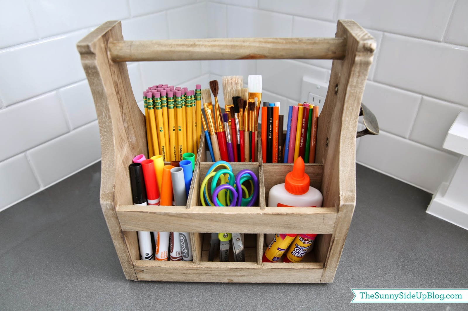 Organized art caddy