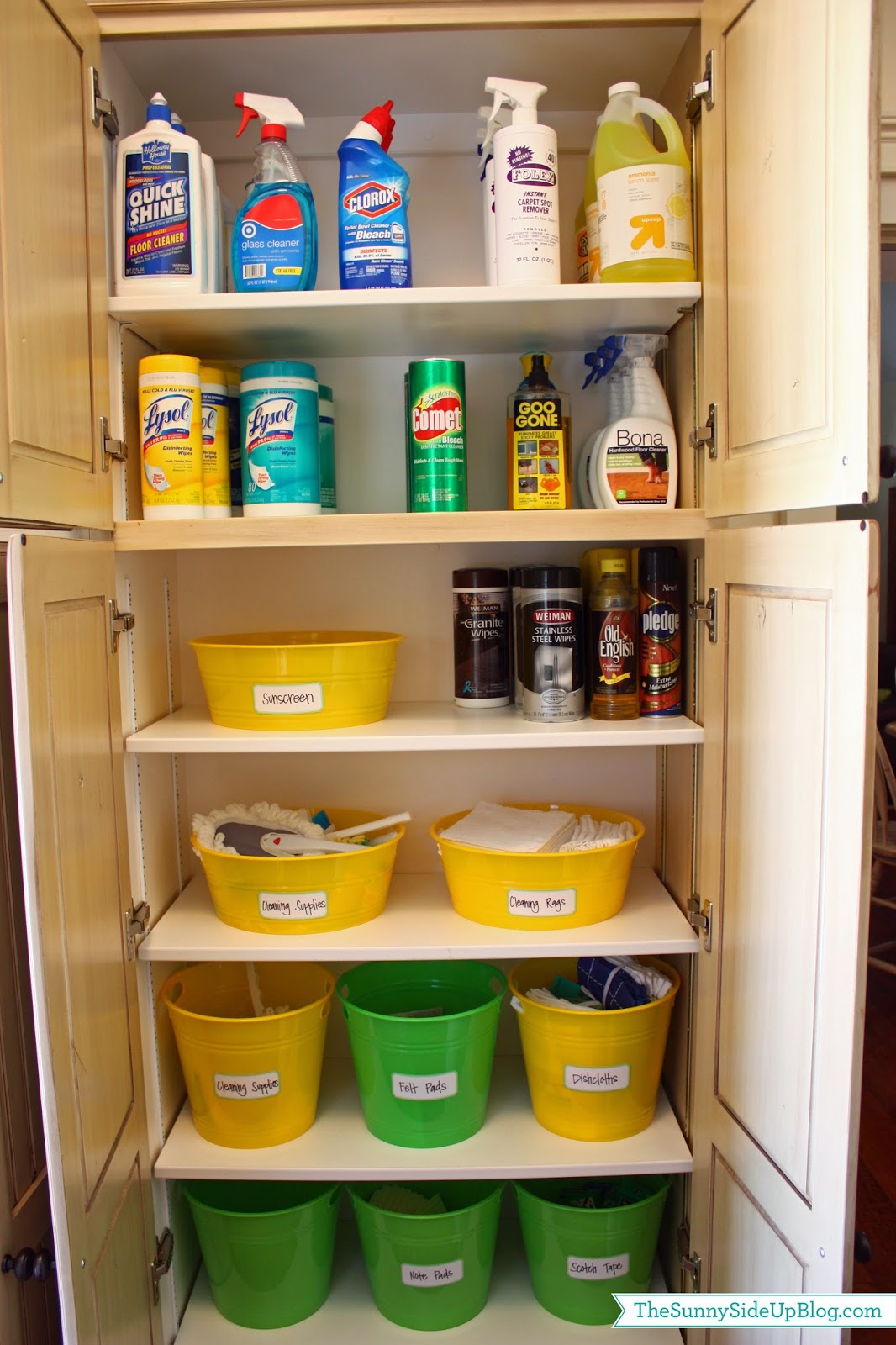 Organized Laundry Room The Sunny Side Up Blog