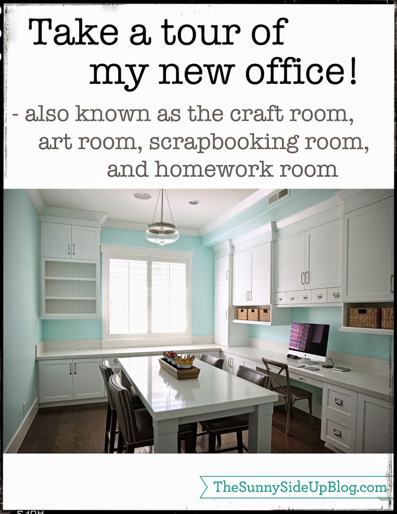Take a tour of my new office!