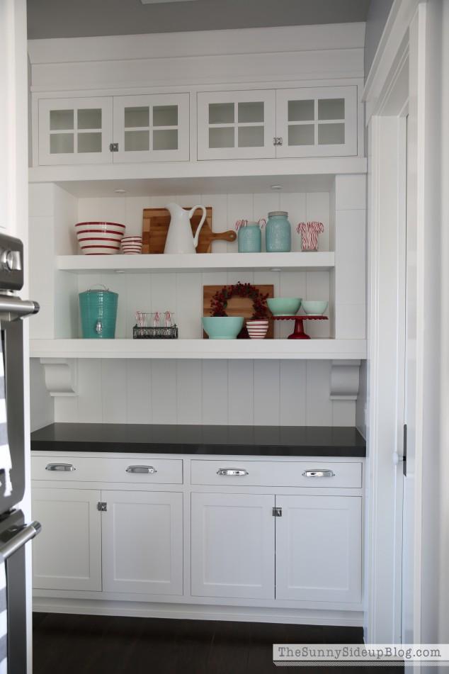 butler's-pantry-shelves-for-christmas