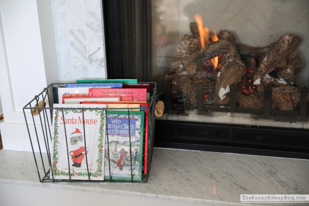 decorating-with-christmas-books