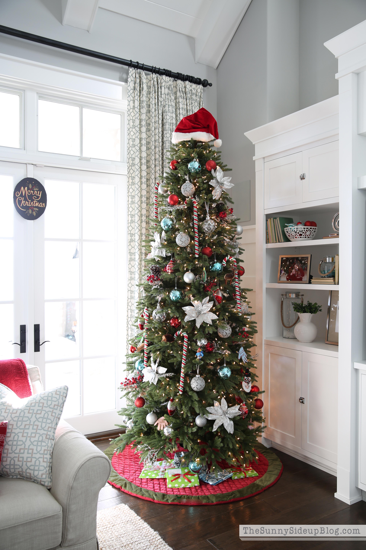 Santa Hat On Christmas Tree Part 36
