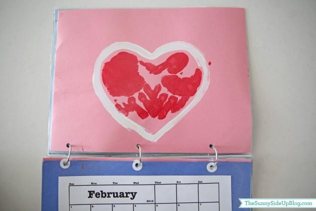 february-handprint-calendar