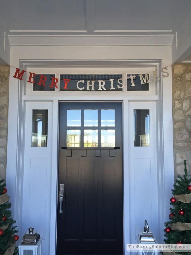 glitter merry-christmas-banner
