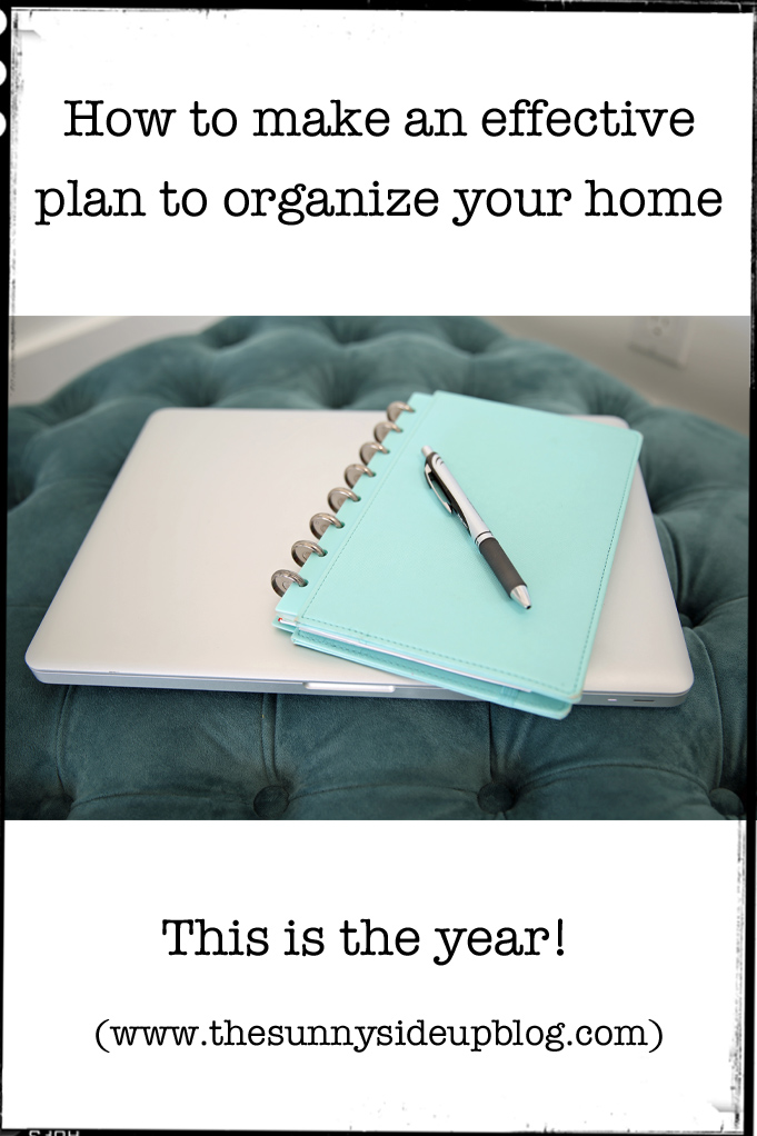 How to make an effective plan to organize your home this year