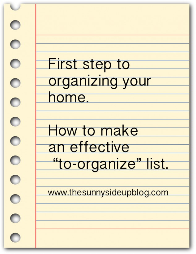 how-to-make-an-effective-to-organize-list