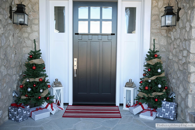 Christmas Front Porch christmas front porch! - the sunny side up blog