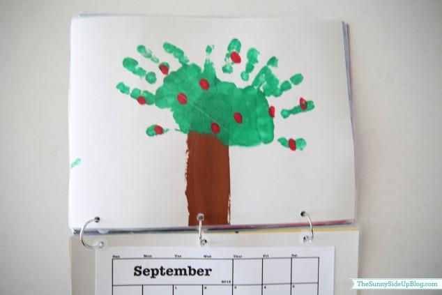 september-handprint-calendar