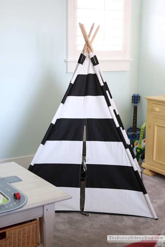 land of nod tepee
