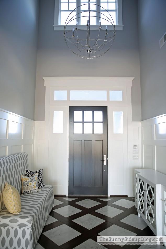 orb-chandelier-in-formal-entry