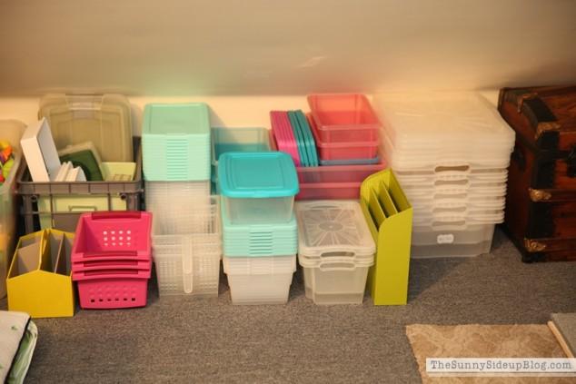 organized attic organized holiday decor_0010