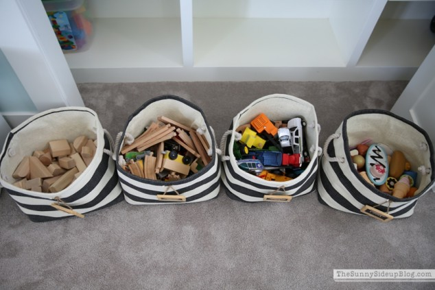 organized toys and dolls