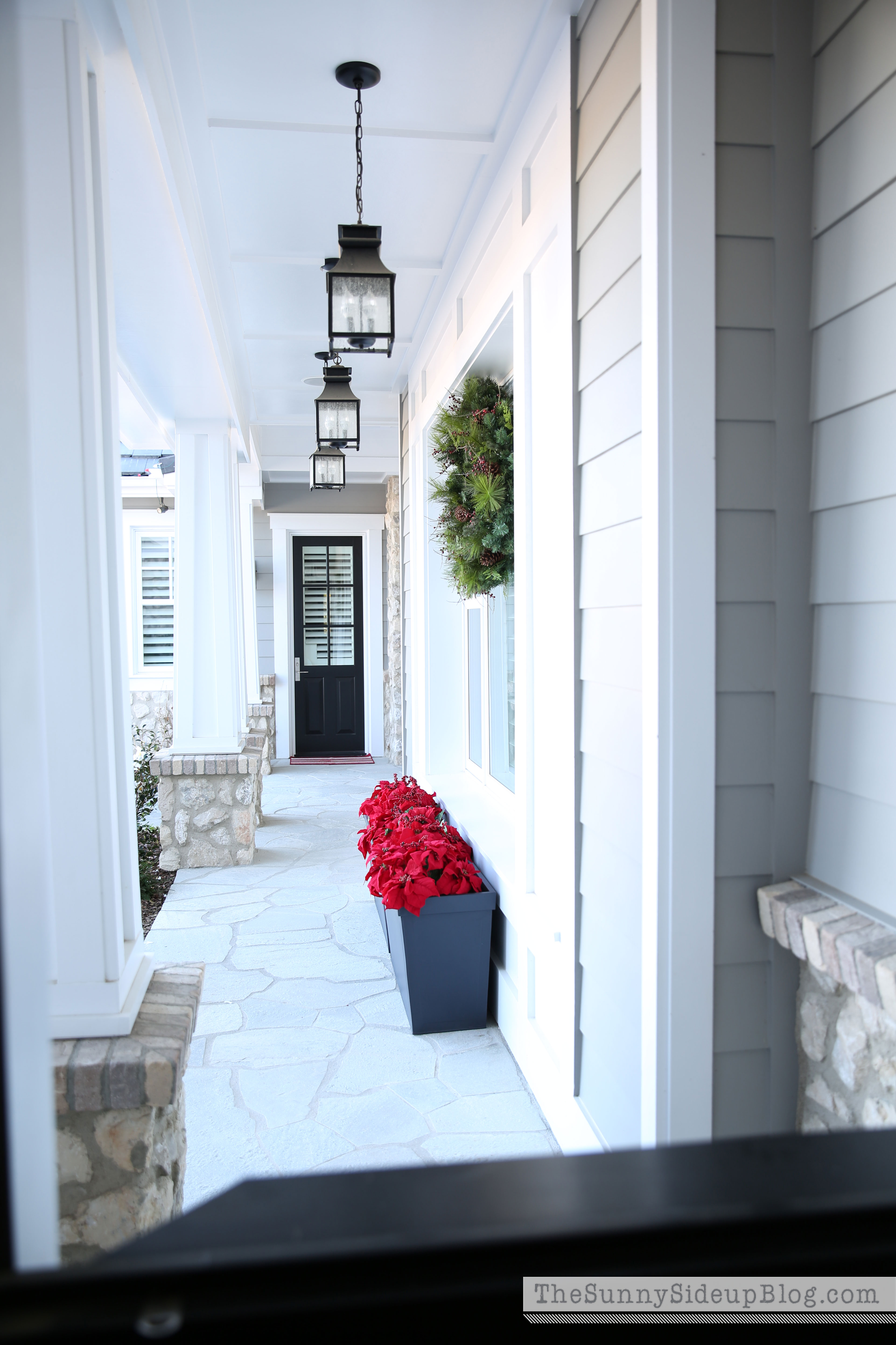 Front Porch Uk >> Valentines (and Christmas!) in the mudroom - The Sunny Side Up Blog