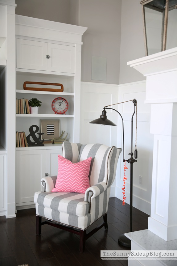pottery barn thatcher wingback chair