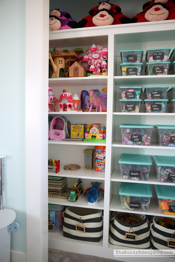 Closet Organization Ideas For Kids Part - 31: Toy Organization In Closet
