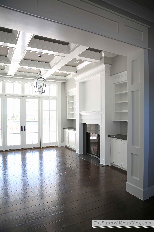 Living Room Decorating Progress - The Sunny Side Up Blog