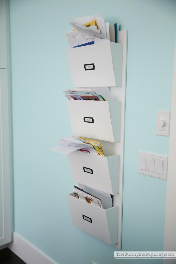 organized hanging file