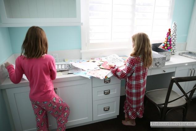 organized kids work