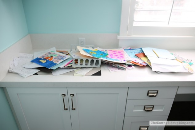 organized kids' work