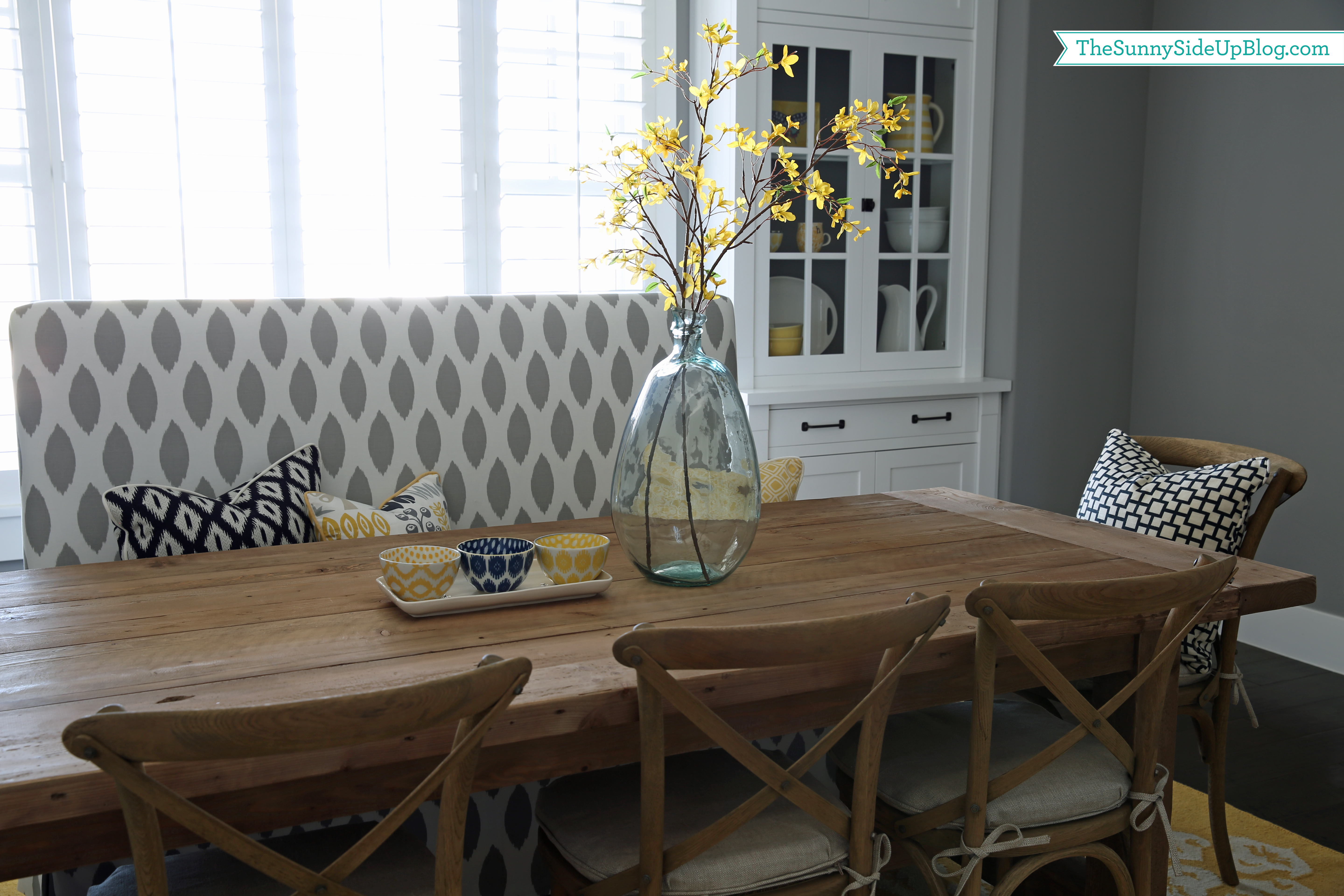Our Spring Dining Room: Spring Open House: Erin From Sunny Side Up