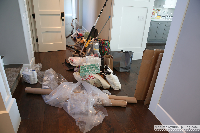 Organized Cleaning Closet