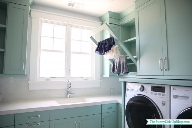 pull down laundry rack