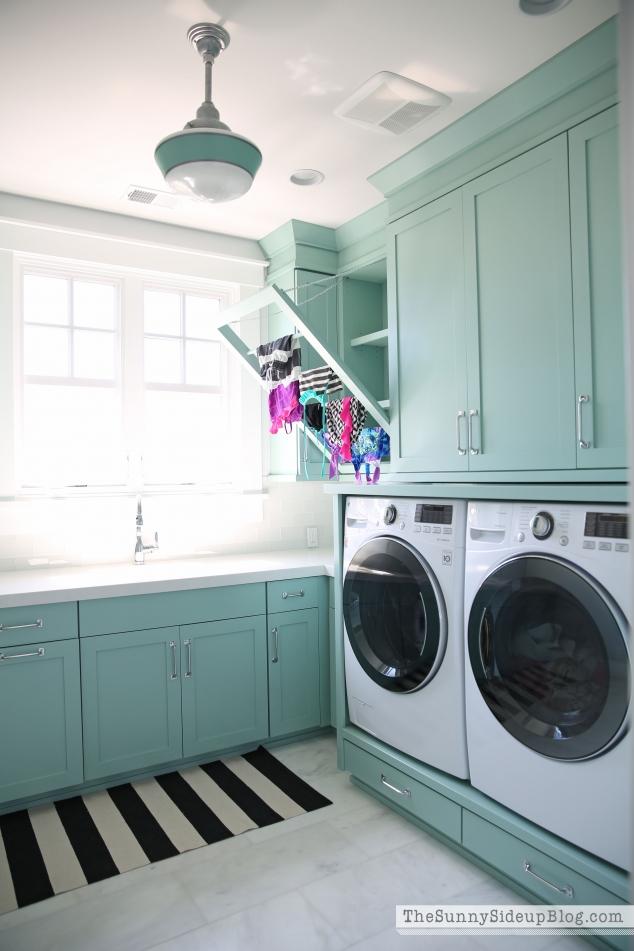 built-in-laundry-rack