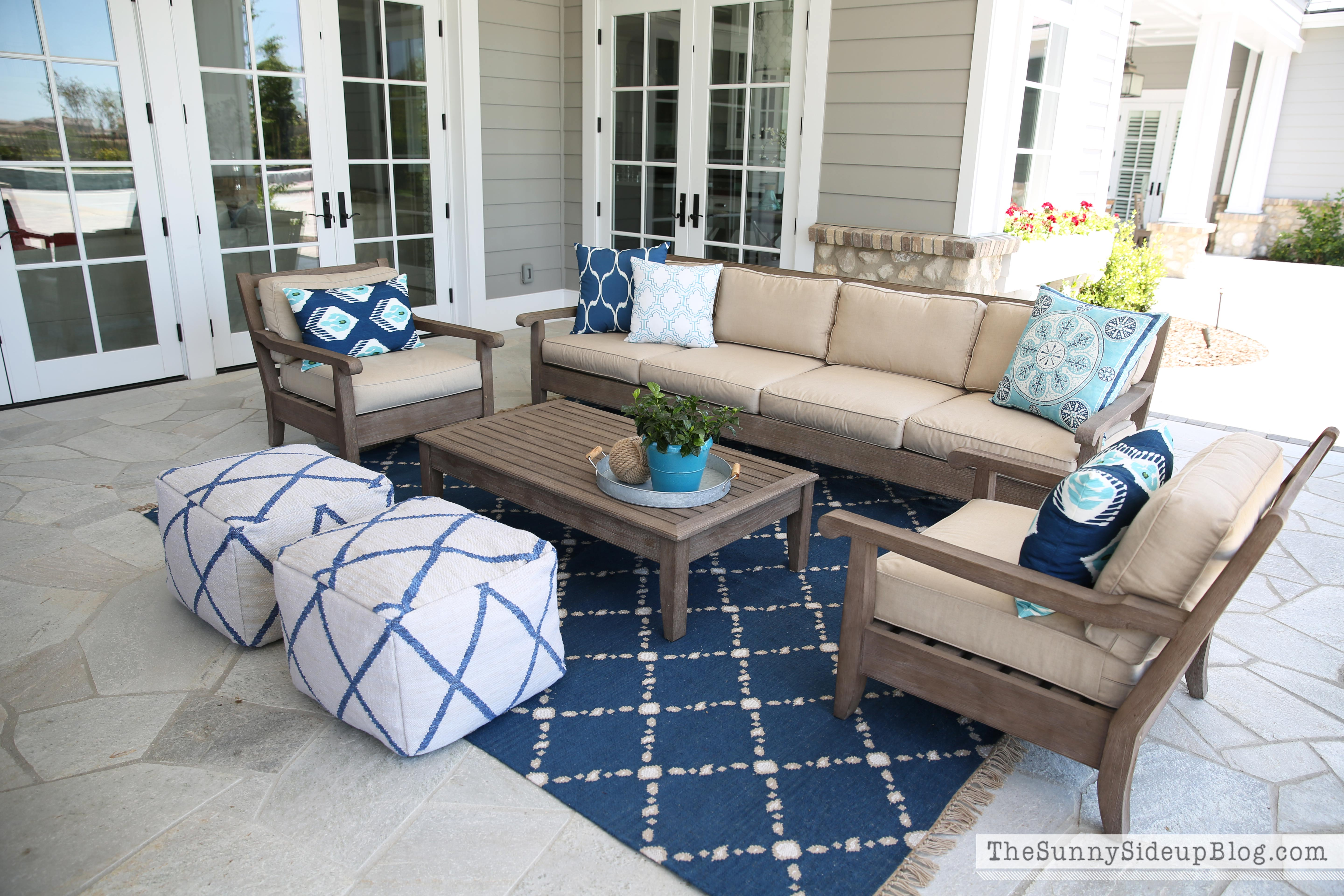 Outdoor Entertaining Area The Sunny Side Up Blog