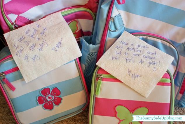 napkin notes