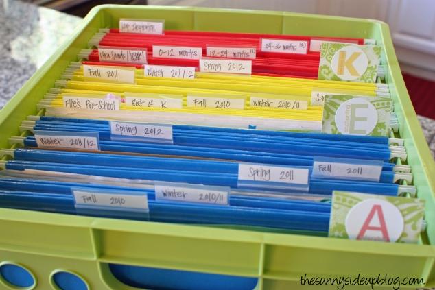 organizing-kids-school-work