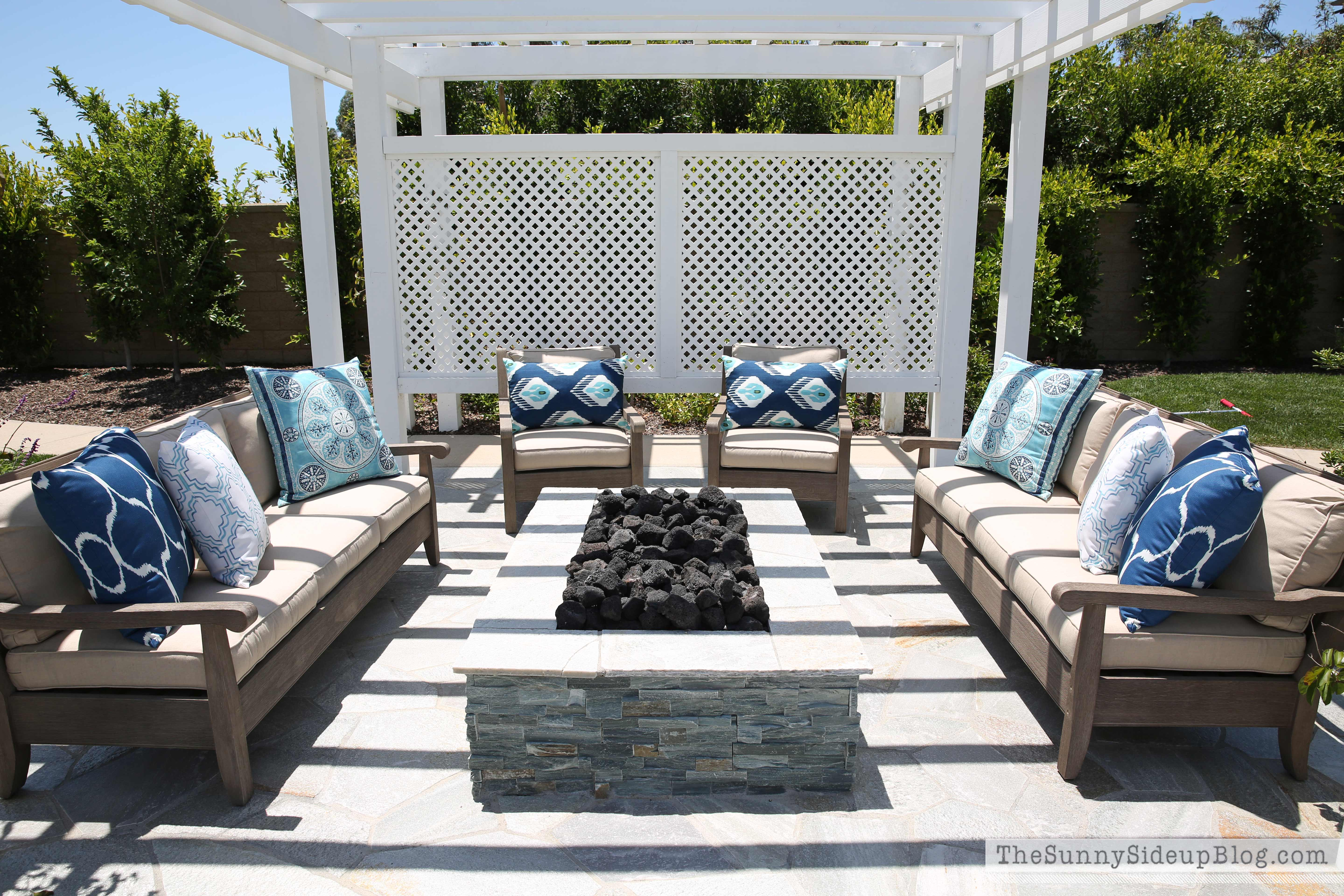Cool outdoor entertaining