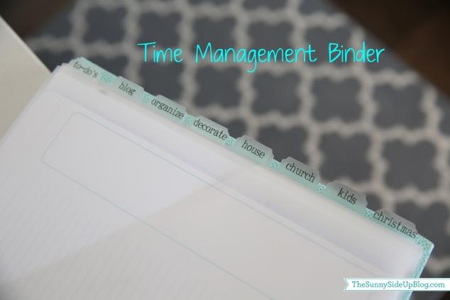 time management binder2