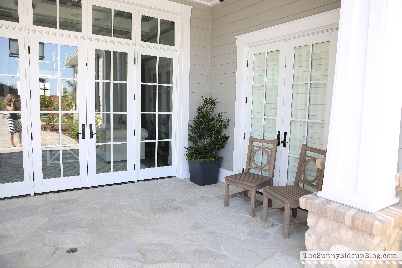 back-yard-french-doors & Backyard pics - The Sunny Side Up Blog